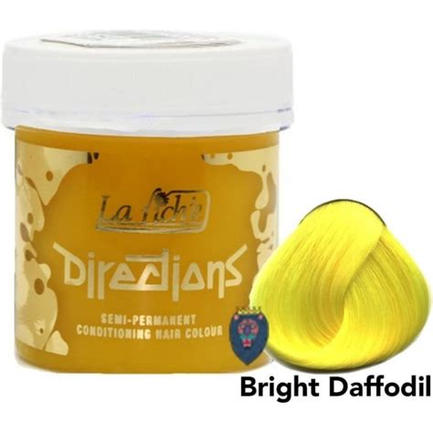 directions by la riche bright hair color from eyecandy s directions la riche semi permanent hair dye colour