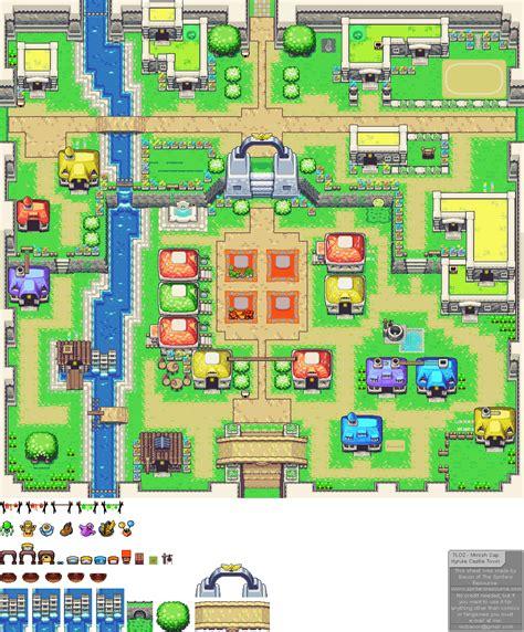legend of zelda map sprites game boy advance the legend of zelda the minish cap