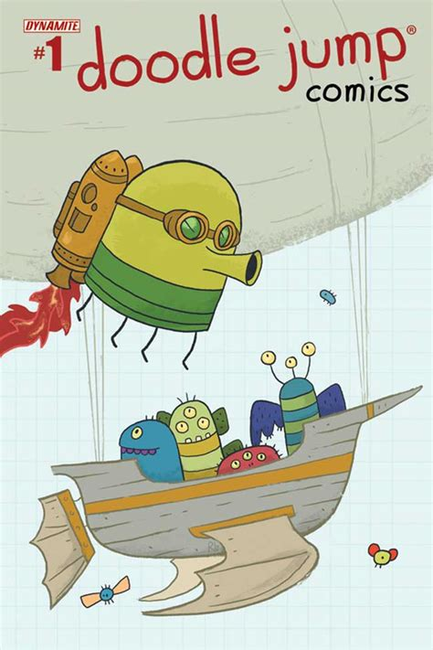 doodle jump comics doodle jump comics 1 arrives in june major spoilers