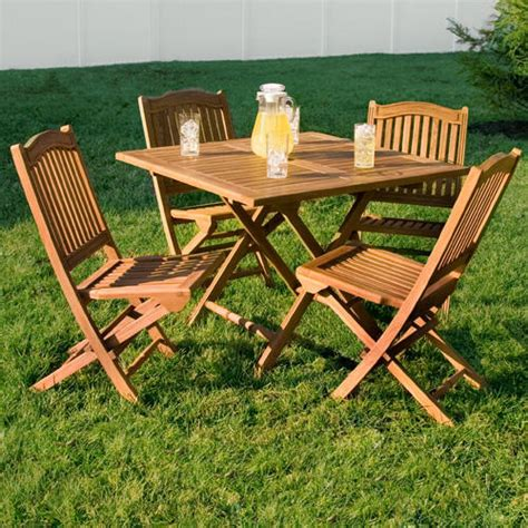square wooden table and chairs teak outdoor square folding dining table outdoor