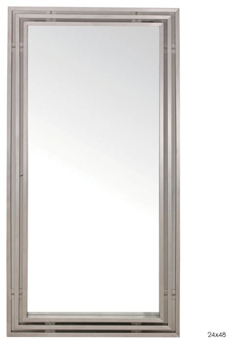 48 x 48 mirror amici wall mirror 24 quot x 48 quot modern mirrors by inmod