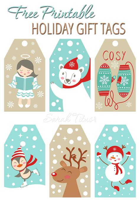 free printable christmas tags that you can type on christmas gift guide sarah titus