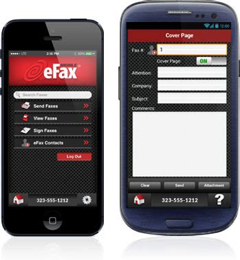 mobile fax efax 174 fax to email fax services