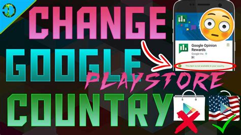 Play Store Country How To Change Play Store Country To Usa On Android
