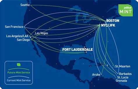 jetblue route map jetblue points million mile secrets