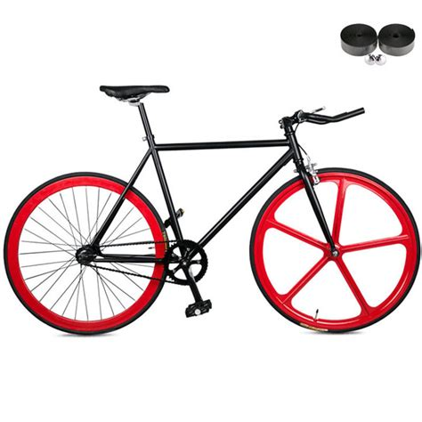 Fixed Gear Bike Alloy r700c bicycle 52cm frame 2016 newest design fixed gear