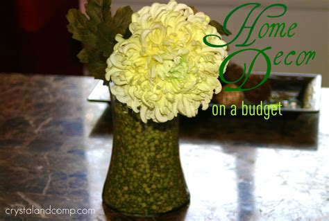 home decor on a budget home decor on a budget inexpensive center piece