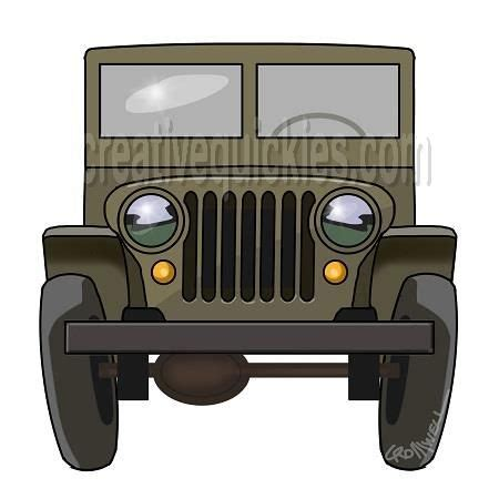 jeep front drawing army jeep images