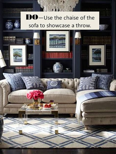 how to place a rug a sectional sofa design guide how to style a sectional sofa confettistyle