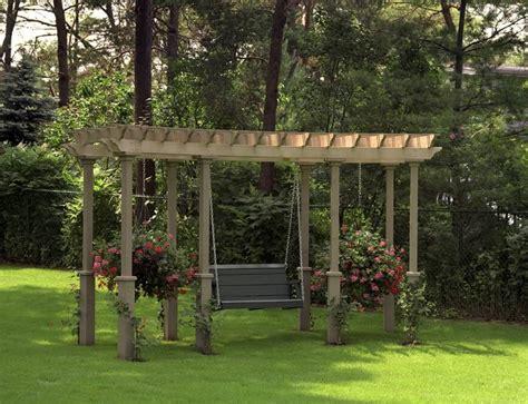 pergola and swing 41 incredibly beautiful backyard pergolas