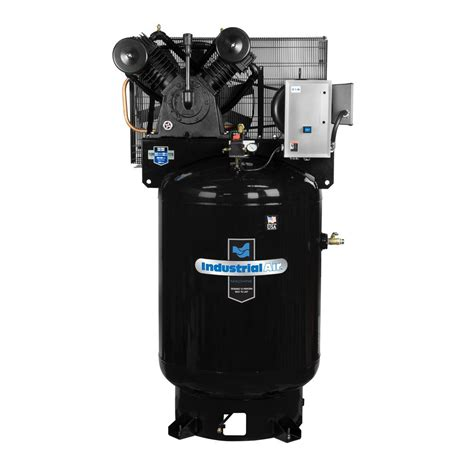 industrial air 120 gal stationary electric air compressor iv9919910 183 the home depot