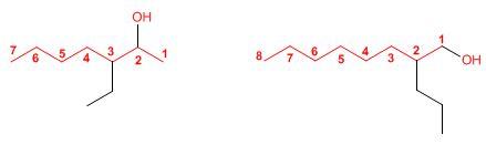 cadenas carbonadas mixtas nomenclatura de los compuestos quimicos iupac comercial