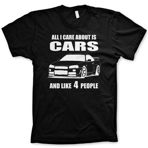 Tshirt Cars all i care about is cars t shirt jdm shirt car