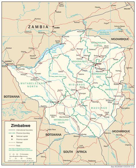 zimbabwe maps perry castaneda map collection ut