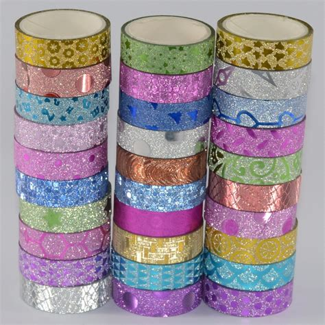 Washitape Masking 10 aliexpress buy 10 pcs masking washi flash washitape japanese decorative scotch