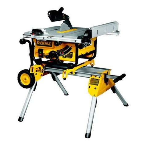 portable table saw bench dewalt dw745rs gb 410mm portable table saw de7400