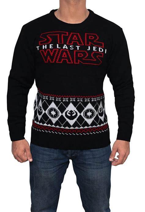 Sweater Wars The Last Jedi 02 the last jedi jumper best wars sweater for adults