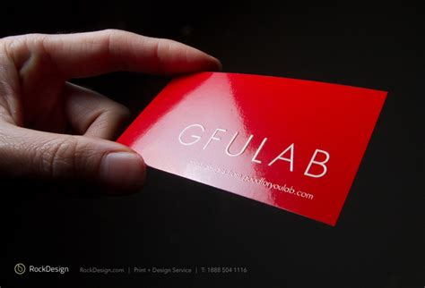 how to make laminated cards choosing the right business card for you blogging about