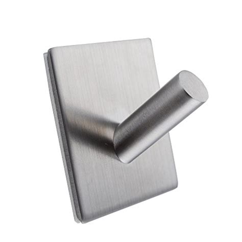contemporary kitchen stainless steel self adhesive kes sus 304 stainless steel 3m self adhesive hook key rack