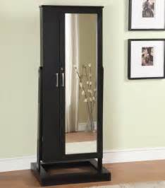 Length Mirrored Jewelry Armoire Large Jewelry Cabinets Caymancode