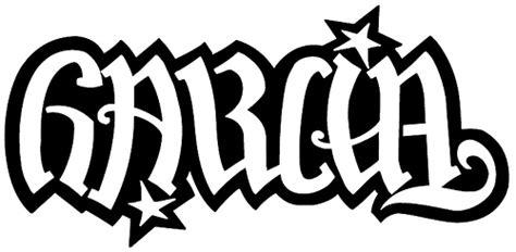 garcia family ambigram garcia family ambigram designed