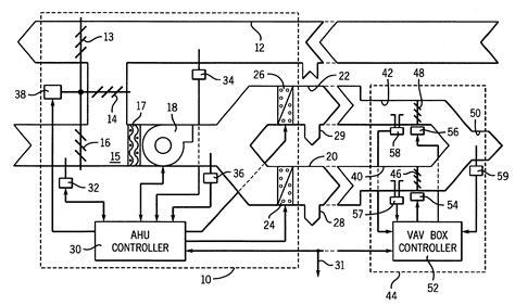 vav wiring diagram parallel fan powered vav box diagram vav hvac system diagram elsavadorla