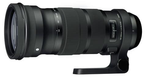 Sigma Lens sigma 120 300mm f 2 8 dg os hsm news at cameraegg
