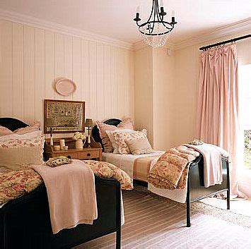 light pink and cream bedroom easter pastels pink twin beds pink walls and girls