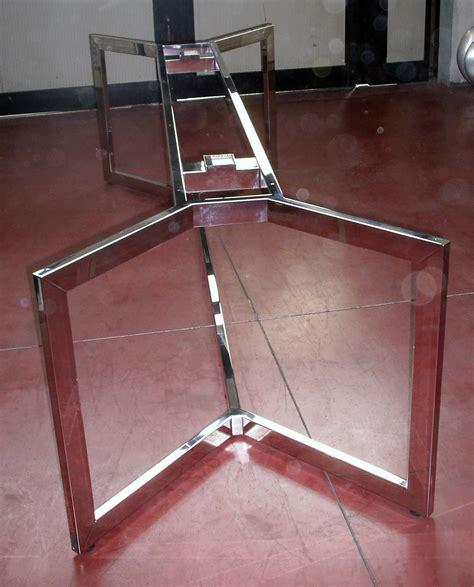 gambe per tavolo gambe per tavoli in vetro kimera tavolo allungabile in