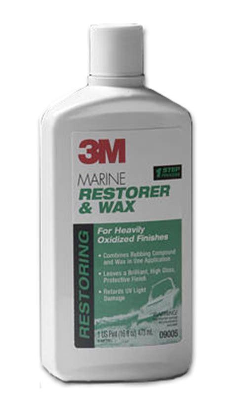 boat wax restorer 3m marine restorer wax boat polish and wax boat wax