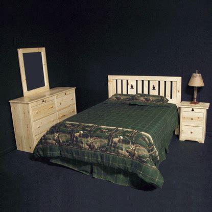 pine log bedroom furniture pine log bedroom set quot from the woods quot