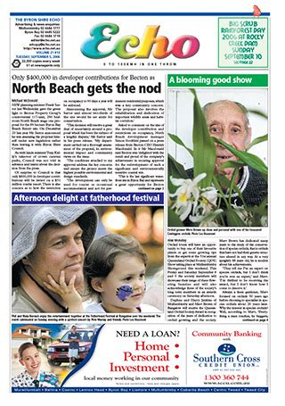 the byron shire echo september 5 2006