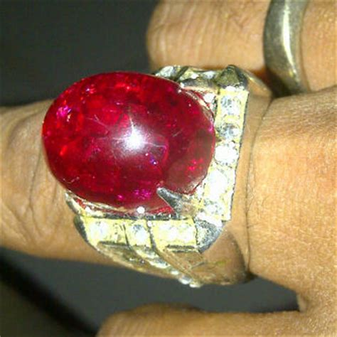 Bacan Doko Hitam Pecah Hijau 002 batu cincin pecah seribu asli gemstone batu akik mulia