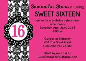 invitations for sweet 16th birthday eysachsephoto