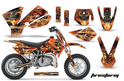 Ktm Sx 50 Graphics 2002 2008 Ktm Motocross Graphic Decal Sticker Kit Ktm Mx
