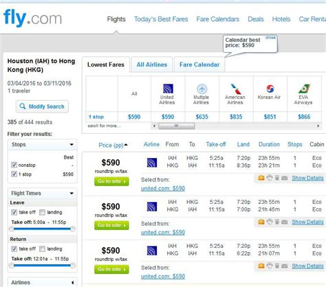 Hong Kong Search 590 622 Hong Kong From Houston Chicago R T Fly Travel