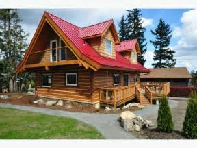 affordable log homes cabins cottages outside okanagan