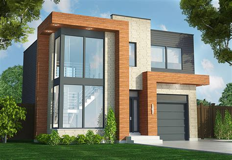 architectural design house plans contemporary duplex 90290pd architectural designs house plans