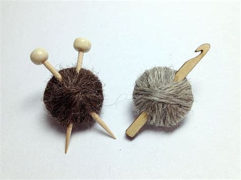 how to knit with a crochet hook wool knitting needles or crochet hook brooch