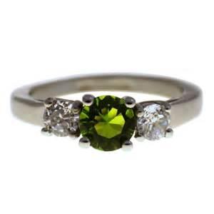 birthstone ring womens birthstone ring august cz peridot stainless steel birthstone ring ebay