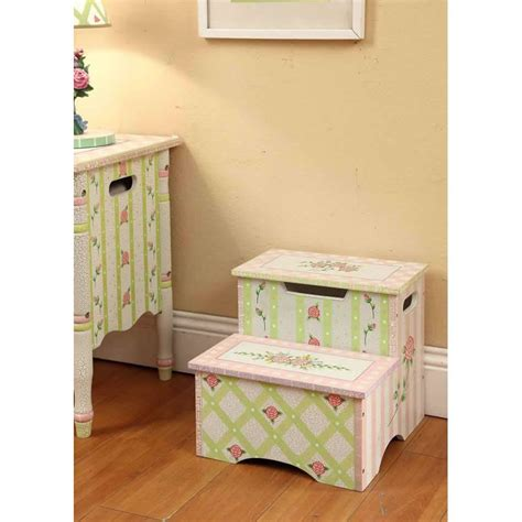 Shabby Chic Step Stool by Shabby Chic Step Stool