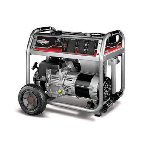 briggs stratton home series 5000 portable generator brrm
