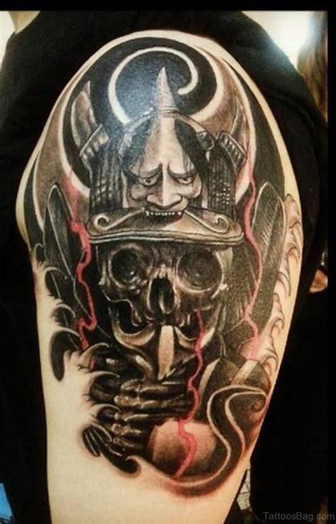 hannya mask tattoo shoulder 72 outstanding mask tattoos on shoulder