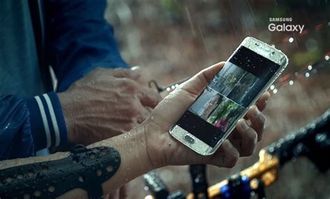 waterproof galaxy  edge shows   samsung indonesia commercial android authority