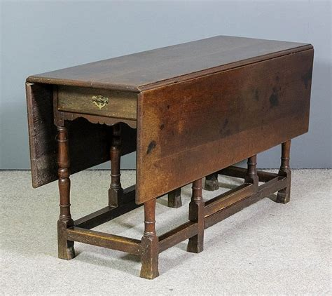 Dummy Table by An Oak Rectangular Gateleg Table With Dummy Drawer To Fr