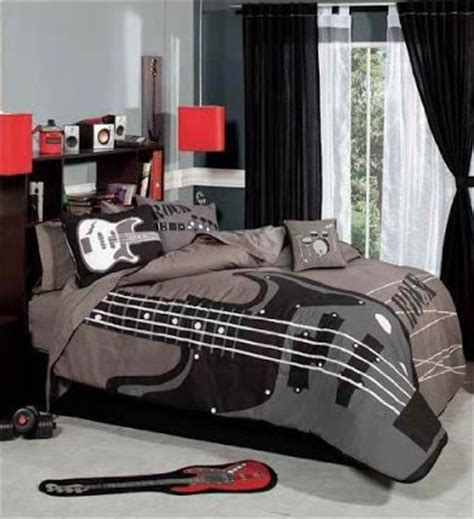 music themed home decor bedroom decor ideas and designs rock n roll bedroom