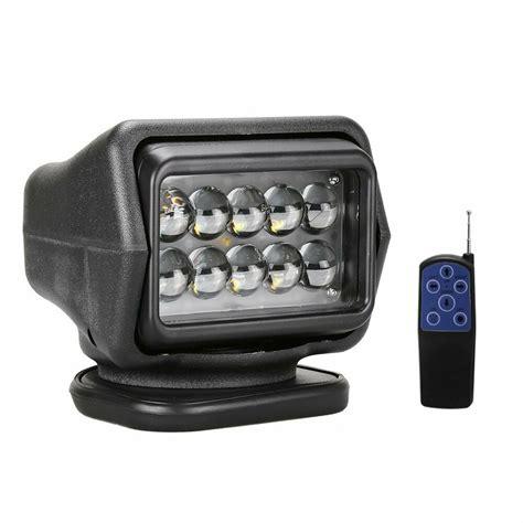cree led light 12v 12v cree wireless led searching spot light remote