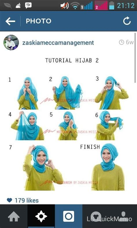 tutorial hijab vemale pinterest the world s catalog of ideas