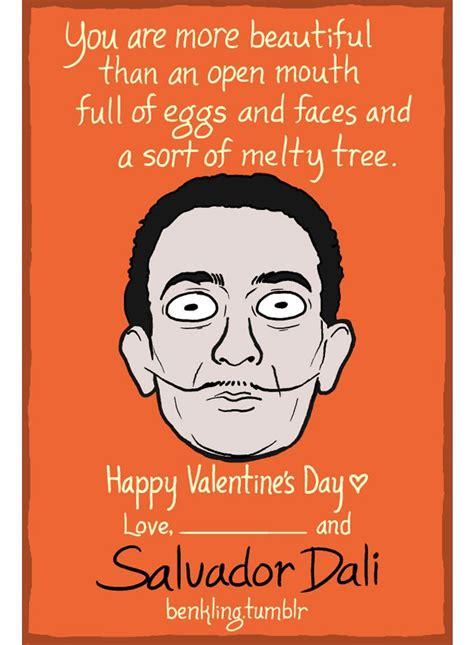 ben kling valentines historical figures valentine s day cards by ben kling
