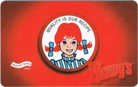 Wendy Gift Card - gift card quality is our recipe wendy s united states of america wendy s col us